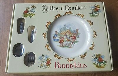 Royal Doulton Bunnykins 'Growing Up Set' - 3 piece Christening Gift BOXED