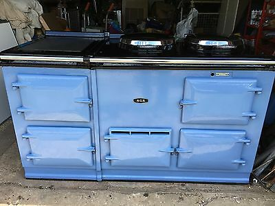 4 Oven Gas Fired AGA in Wedgewood Blue