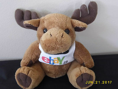 EBay Ca Steven Smith Plush Beanie Moose Stuffed Animal Canada eBayana Promotion