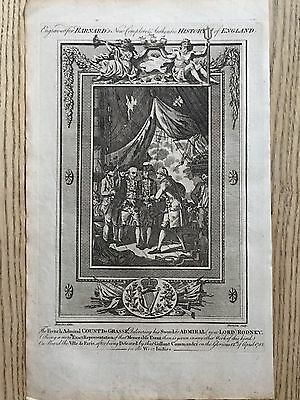 1783 Battle Of The Saintes Surrender Of French To English Revolutionary War