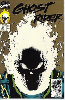 Ghost Rider #15 (Jul 1991, Marvel) 1st and 2nd printing  Glow-In-The-Dark covers