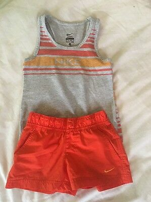 Boys Nike Summer Outfit Vest And Shorts 3-4 Years