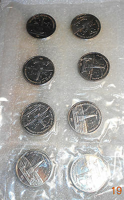Russian 8x1 Rouble 1987 / Kutuzov Monument / Proof / Original plastic package