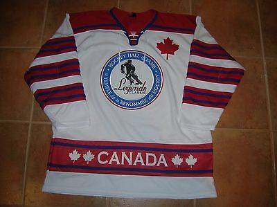 Hockey HALL OF FAME Legends GAME Replica Jersey, Size Men's XL