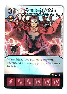 Dice Masters Scarlet Witch Avengers Disassembled OP LE Promo F2