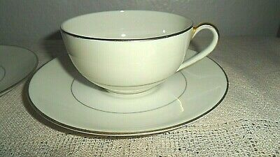 2 Theodore Haviland Brookfield Cups And Saucers New York Made In America