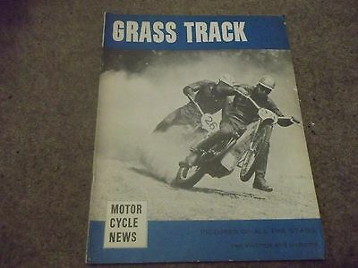 Vintage Grass Track Motor Cycle News Magazine 1966 Publication Peterborough