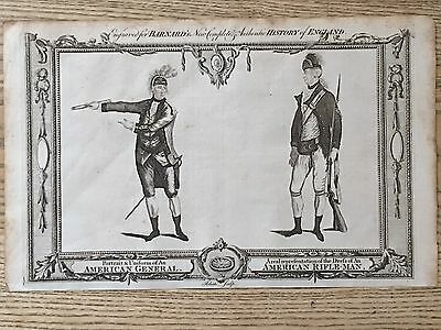 1783 An American Revolutionary General & Rifleman's Uniforms 232 Years Old