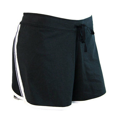 Nike Womens Fit-Dry 'Just do it' Running Shorts - Black (XL)
