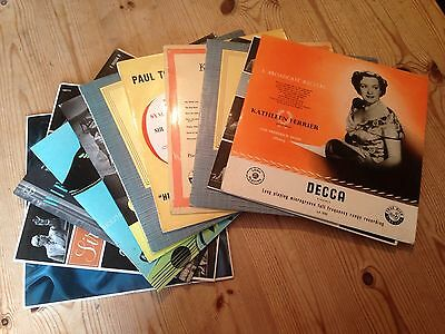 "10x Rare Collection Of 10"" Classical LPs - inc. Decca"