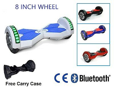 8 Inch Wheels - Self Balancing Hoverboard Swegway Electric Scooter Hover Board *