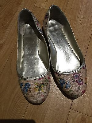 Ladies Multi Colour Slip On Shoe, Size 4 from new Look