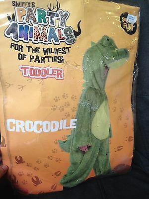 Smiffys Party Animals Toddler Crocodile fancy dress costume - ages 3-5 years