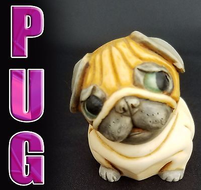 Collectible Pug dog figurine that opens gift idea