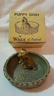 Wade Puppy Trinket Dish With Original Box