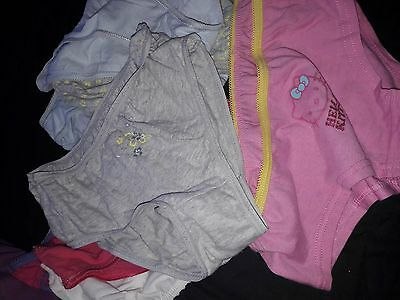 new girls knickers age 9/10  9 pairs