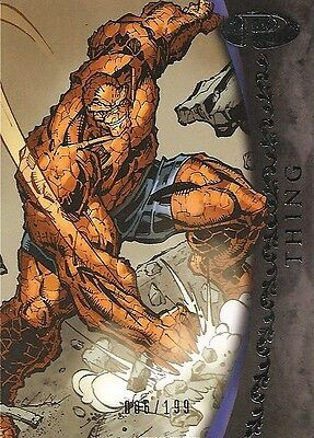 2012 Marvel Premier THING No. 3 Base Card #006/199