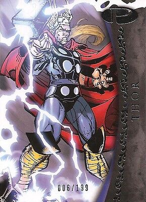 2012 Marvel Premier THOR No. 8 Base Card #006/199