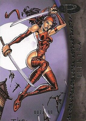 2012 Marvel Premier ELEKTRA No. 38 Base Card #007/199
