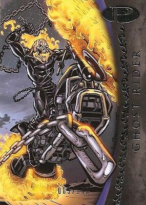 2012 Marvel Premier GHOST RIDER No. 37 Base Card #005/199