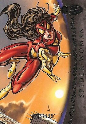 2012 Marvel Premier SPIDER-WOMAN No. 17 Base Card #005/199