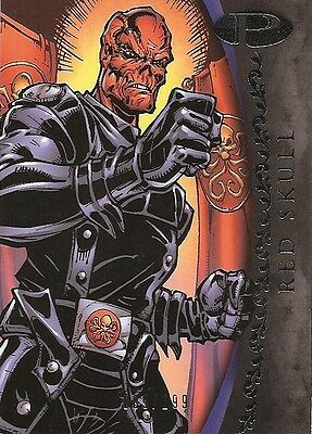 2012 Marvel Premier RED SKULL No. 42 Base Card #009/199