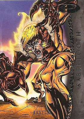 2012 Marvel Premier SABRETOOTH No. 46 Base Card #005/199