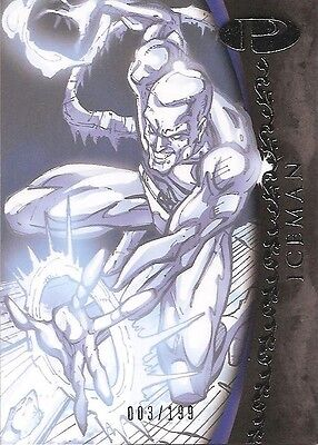 2012 Marvel Premier ICEMAN No. 26 Base Card #003/199