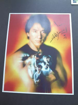 Jackie Chan Genuine Signed 10X8 Photograph