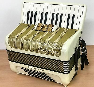 Hohner Student VM 48 bass piano accordion, vintage made in Germany