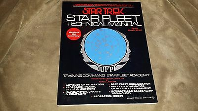 Star Trek Star Fleet Technical Manual - Soft Cover - 1986 - 25th Anniversary