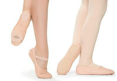 NEW Ballet Shoes Child & Adult Sizes SoDanca CLOSEOUT Leather Full or Split Sole