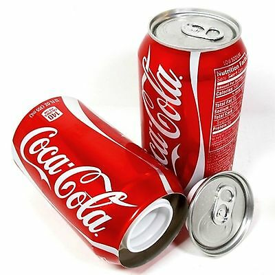 Coka CoIa 12oz Soda Can Safe Hidden Storage Secret Diversion Stash New STL-2105