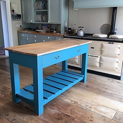 Bespoke Kitchen Island - Hand made in Suffolk workshop