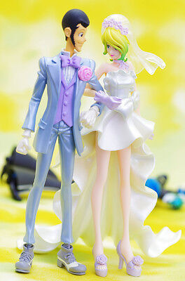 Creator Lupin the 3rd & Rebecca Wedding Vers. Set of 2 Rare Colo JAPAN