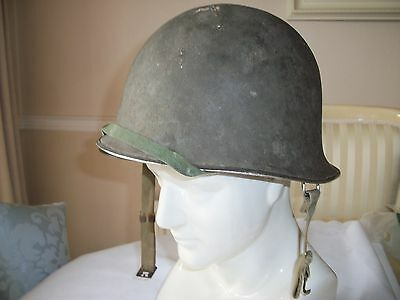 French M1 Style Helmet & Liner Dated 1955