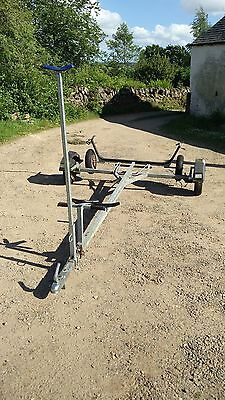 Snipe roadbase and launching trolley (combi trailer) - great condition