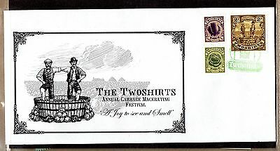 Discworld Stamps First Twoshirts First Day Cover - RARE SPORT VERSION (11403)