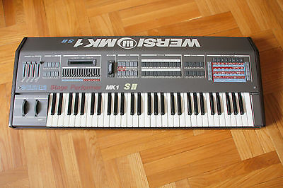 WERSI Stage Performer MK1 S2 - Vintage synth with 24dB VCF