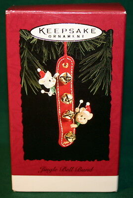 Hallmark Ornament 1994 Jingle Bell Band-------Musical Mice