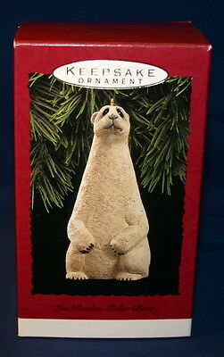 Hallmark Ornament 1992 Lou Rankin Polar Bear