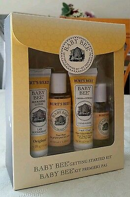 Burts bees baby getting started giftset. Great baby shower/gift idea. New