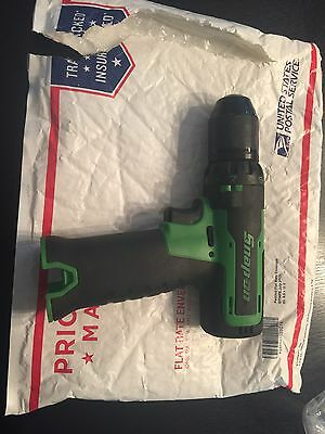 Snap on Cdr761Ag Cordless Drill 14.4volts Tool Only Green