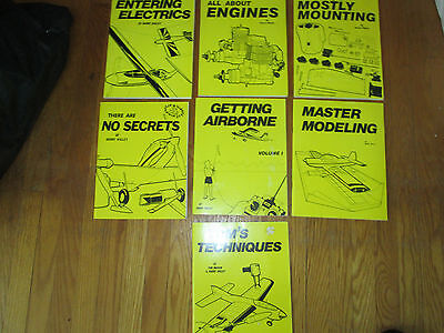 Harry Higley Books (7) Books About Model Airplanes