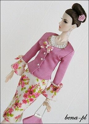 """bena-pl Clothes for Fashion Royalty FR2 12"""" OOAK outfit"""