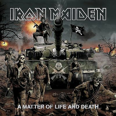 Iron Maiden - A Matter Of Life And Death 2x 180g vinyl LP IN STOCK NEW/SEALED