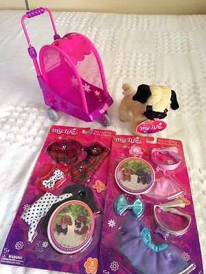 """My Life As Dog, Clothing, Stroller 18"""" Dolls American Girl Our Generation"""