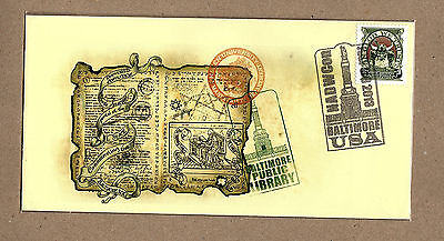 Discworld Stamps NADWCon 2013 Cover (11585)