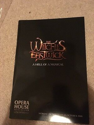 The Witches Of Eastwick Musical Theatre Programme 2007