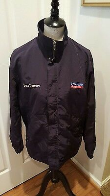 Rare Find!  STAY THIRSTY Coolmore America  Jacket - Size small